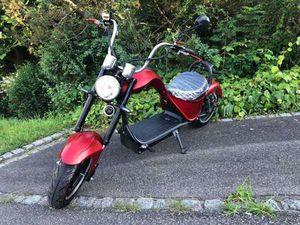 HARLEY ONE ELEKTRO SCOOTER MIT STARKEM 2000 WATT E-MOTOR