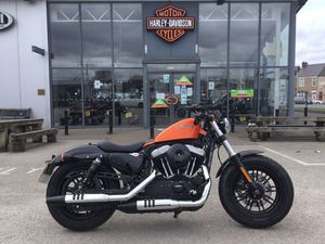 HARLEY-DAVIDSON SPORTSTER XL1200X FORTY-EIGHT 1200CC