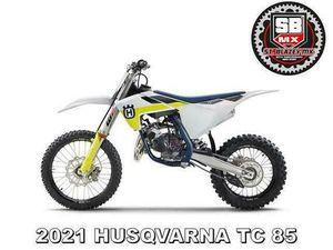 2021 HUSQVARNA TC 85 SW MOTO-X BIKE - NOW AVAILABLE TO ORDER @ ST BLAZEY MX   IN PAR, CORN