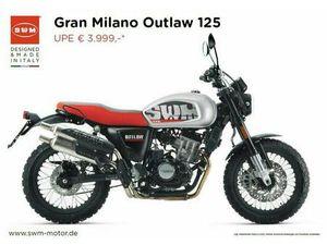 SWM - GRAN MILANO OUTLAW 125CCM 15PS RETRO NAKED BIKE