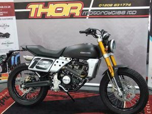 FANTIC CABALLERO FLAT TRACK 125/250/500 AVAILABLE FROM £4899 | IN BODMIN, CORNWALL | GUMTR