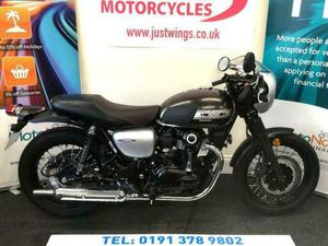 KAWASAKI W800 CKF CAFE RACER, 2019(19), ONLY 463 MILES, PERFECT CONDITION, £6495   IN DURH