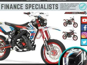 RIEJU MRT TROPHY 50 SM 50CC SUPERMOTO 2 STROKE MOTORBIKE FINANCE DELIVERY | IN DUNDEE | GU