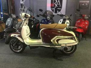 ROYAL ALLOY GP 300CC ABS LC MODERN CLASSIC RETRO AUTOMATIC SCOOTER FOR SALE | IN ROCHDALE,