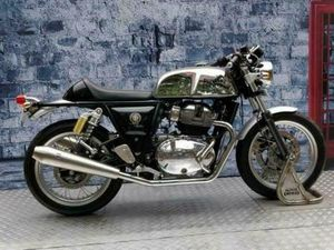 ROYAL ENFIELD CONTINENTAL GT 650 TWIN 2020 CAFE RACER MODERN CLASSIC MOTORCYC... | IN BOLT