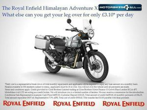 ROYAL ENFIELD HIMALAYAN ADVENTURE X | IN MALVERN, WORCESTERSHIRE | GUMTREE