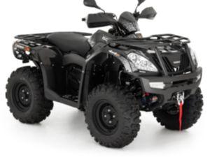 GOES COBALT BLACK 4X4 37PS QUAD ATV NEUFAHRZEUG