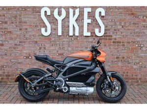 2020 HARLEY-DAVIDSON LIVEWIRE ELECTRIC MOTORCYCLE IN ORANGE FUSE | IN LEWES, EAST SUSSEX |