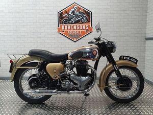 BSA GOLD FLASH 1957 BSA GOLDEN 650CC