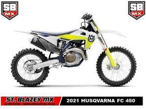 2021 HUSQVARNA FC450 MOTO-X BIKE | IN PAR, CORNWALL | GUMTREE