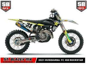 2021 HUSQVARNA FC450 ROCKSTAR EDITION MOTO-X BIKE | IN PAR, CORNWALL | GUMTREE