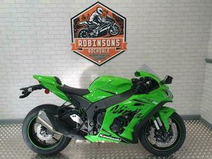 20 REG 2019 MODEL KAWASAKI ZX10RR IN GREEN WITH DELIVERY MILES. | IN ROCHDALE, MANCHESTER