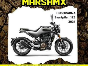HUSQVARNA SVARTPILEN 125 2021 MODEL - NIL DEPOSIT FINANCE AVAILABLE 87/MTH | IN MERTHYR TY