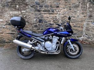 SUZUKI BANDIT 650 LOW MILEAGE