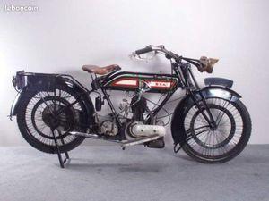 BSA MODEL H - 550 CC - LATÉRAL - 1923