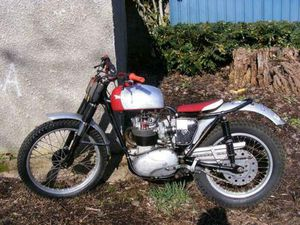 BSA C15T TRAILS 250 1966 CLASSIC BRITISH TRIALS IRON BARN FIND PROJECT 1960,S | IN WOLVERH