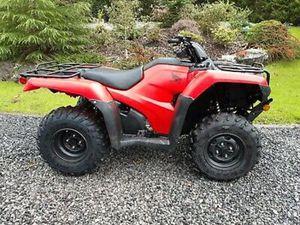 HONDA TRX 420 4X4 FULLY AUTOMATIC ATV WITH POWER STEERING AGRI RD REG YEAR 2019