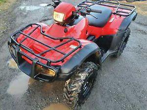 HONDA 2012 TRX 500 FOREMAN 4X4 FARM QUAD BIKE ATV AGRI CAN BE ROAD REGISTERED