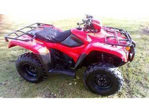 HONDA QUAD ATV 500 4X4 FARM QUAD