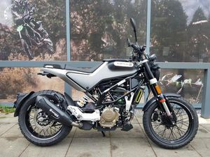 USED HUSQVARNA SVARTPILEN 125 FOR SALE IN SWANSEA