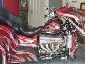 2007 BOSS HOSS COUPE TRIKE 605
