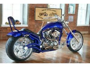 2006 BOURGET FAT DADDY 300 WORLD CLASS SOFTAIL CHOPPER LOOKS, RUNS NEW MINT FAST