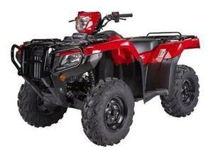 2020 HONDA TRX520 6.9% HP FINANCE TRX 520 4WD MANUAL ATV QUAD 520CC FM2 FM6 FE2