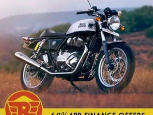 ROYAL ENFIELD CONTINENTAL GT 650 TWIN 2021 CAFÉ RACER MODERN CLASSIC MOTORCYC...