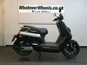 NIU NQI GTS SPORT LEARNER LEGAL 125CC EQUIVALENT ELECTRIC SCOOTER