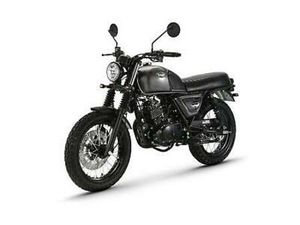 BULLIT MOTORCYCLES BLUROC 125CC RETRO NAKED GEARED MOTORCYCLE