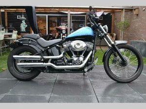 HARLEY DAVIDSON FXS BLACKLINE BJ11 NIEUWSTAAT 1E EIGNAAR