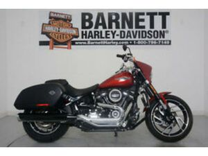 2019 HARLEY-DAVIDSON SOFTAIL SPORT GLIDE USED P15616 WICKED RED