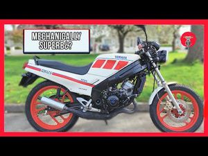 1989 YAMAHA TZR125 - RIDE ALONG VIDEO!