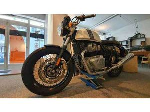 ROYAL ENFIELD CONTINENTAL GT650 BLANCHE