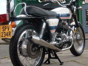 1977 NORTON COMMANDO ROADSTER MK3 850 ELECTRIC START, CLASSIC VINTAGE RARE JPN | IN GREENF