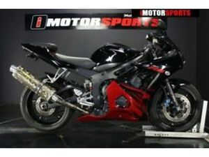 2003 YAMAHA R6, BLK WITH 23576 MILES AVAILABLE NOW!