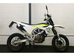 HUSQVARNA 701 SUPERMOTO ** WP SUSPENSION - HAND GUARDS - ALL KEYS AND BOOKS ** | IN MARKET