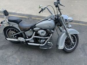 1990 HARLEY FATBOY GRAY GHOST EVO FAT BOY NOT PANHEAD SHOVELHEAD