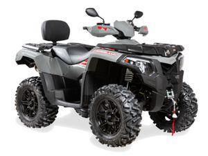 AEON CROSSLAND 620 LUX ATV LOF QUAD GRAU SONDEREDITION!!!