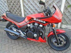 HONDA CBX 750 F...A REG VERY LOW MILES NICE OLD CLASSIC RIDES VERY NICE