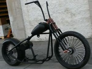 MMW COPPER HEAD OLD SCHOOL OG 200 BOBBER RIGID 23 FRONT ROLLING CHASSIS