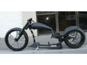 MMW EURO DRAG DROP SEAT SINGLE SIDED 300 SOFTAIL WITH REAL CARBON FIBER FORKS