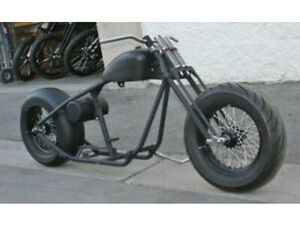 MMW FATSO ROLLING CHASSIS , EXILE STYLE FAT FRONT TIRE