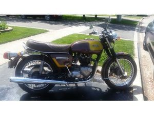TRIUMPH BONNEVILLE 750 1978 USED MOTORCYCLE FOR SALE IN OAKVILLE