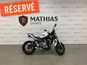 KAWASAKI Z650 ABS 2017 USED MOTORCYCLE FOR SALE IN SAINT-MATHIAS-SUR-RICHELIEU