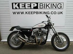 1991 HARLEY 1200CC SPORTSTER FLAT TRACKER 1455 MILES. ONE-OFF, HIGH END BUILD.