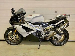 APRILIA RSV MILLE R, 07 WHITE BLACK, GREY, LAVISHED IN CARBON AND EXTRAS.