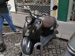 SCOOTER JM MOTORS OLDIES 50CC NOIR