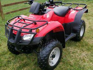2013 HONDA TRX 250 TE FARM QUAD ATV