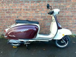 ROYAL ALLOY TG 125CC S LC ABS OWN THIS SCOOTER FOR ONLY £19.40 A WEEK
